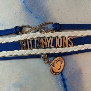 Jewelry - Family 5 pack. PSU Nittany Lion Bracelets